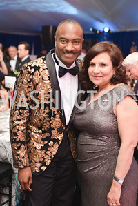 Reginald Van Lee, Sylvia de Leon,  The Washington Ballet Jazz Ball at the Duke Ellington School of the Arts, May 16, 2014, Photo by Ben Droz