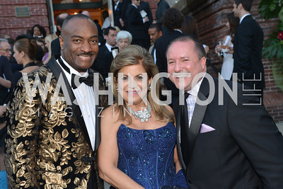 Reginald Van Lee, Annie Totah, Daren Thomas,  The Washington Ballet Jazz Ball at the Duke Ellington School of the Arts, May 16, 2014, Photo by Ben Droz