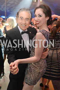 Bruce Lipnick, Olivia Lipnick,  The Washington Ballet Jazz Ball at the Duke Ellington School of the Arts, May 16, 2014, Photo by Ben Droz