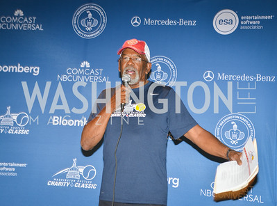 Jim Vance, Washington Kastles Congressional Charity Classic, GW Smith Center, Tuesday, July 15, 2014, Photo by Ben Droz.