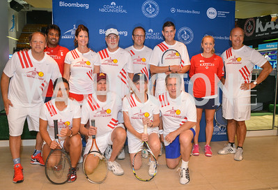Team Stripes Washington Kastles Congressional Charity Classic, GW Smith Center, Tuesday, July 15, 2014, Photo by Ben Droz.