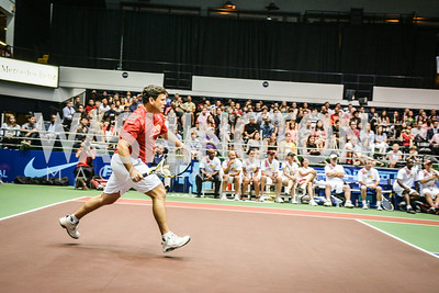 Bret Baier, Washington Kastles Congressional Charity Classic, GW Smith Center, Tuesday, July 15, 2014, Photo by Ben Droz.