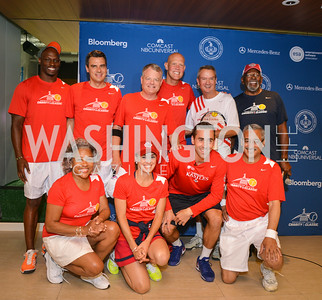 Team Stars Washington Kastles Congressional Charity Classic, GW Smith Center, Tuesday, July 15, 2014, Photo by Ben Droz.