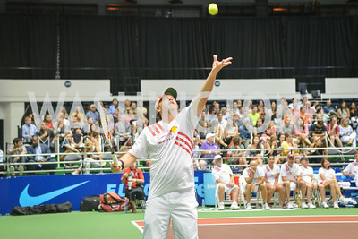 Mark Ein, Washington Kastles Congressional Charity Classic, GW Smith Center, Tuesday, July 15, 2014, Photo by Ben Droz.