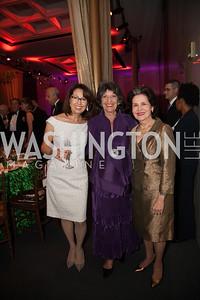 Marie Arana, Carol Schwartz, Martha Istomin