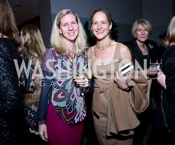 Anne Wise, Katie Gewirz. Photo by Tony Powell. The Washington Winter Show. Katzen Center. January 9, 2014