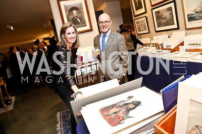 Lesley and John Duncan. Photo by Tony Powell. The Washington Winter Show. Katzen Center. January 9, 2014