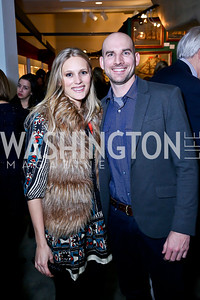Lauren and David Liess. Photo by Tony Powell. The Washington Winter Show. Katzen Center. January 9, 2014