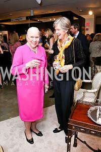 Elizabeth Wainwright, Anne Hazel. Photo by Tony Powell. The Washington Winter Show. Katzen Center. January 9, 2014