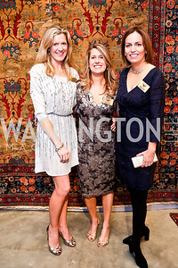 WWS Chairs Denise Prince, Dory Clark, Puffin Travers. Photo by Tony Powell. The Washington Winter Show. Katzen Center. January 9, 2014