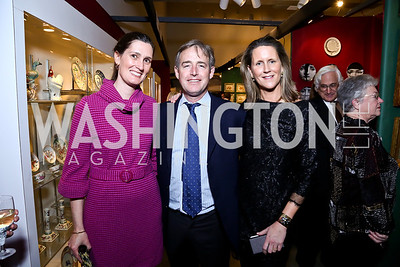 Sarah and Ted Stettinius, Reg Stettinius. Photo by Tony Powell. The Washington Winter Show. Katzen Center. January 9, 2014