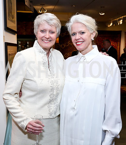 Jana Martin, Susan Harreld. Photo by Tony Powell. The Washington Winter Show. Katzen Center. January 9, 2014