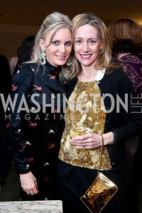 Amy Porter Stroh, Pamela Wise. Photo by Tony Powell. The Washington Winter Show. Katzen Center. January 9, 2014