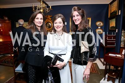 Heather Florance, Christina Lepore, Jennifer Jacobs. Photo by Tony Powell. The Washington Winter Show. Katzen Center. January 9, 2014