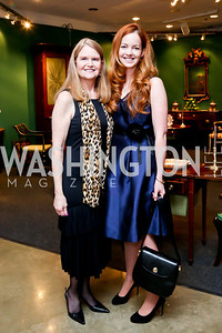 Stephanie Polis, Aimee Burck. Photo by Tony Powell. The Washington Winter Show. Katzen Center. January 9, 2014