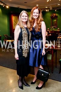 Stephanie Polis, Aimee Burck. Photo by Tony Powell. The Washington Winter Show. Katzen Center. January 9, 2014