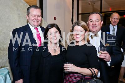 Leland and Judy Bishop, Renee and Jason Meath. Photo by Tony Powell. The Washington Winter Show. Katzen Center. January 9, 2014