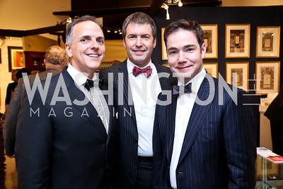 Ed McAllister, Rick Robinson, Josh Hildreth. Photo by Tony Powell. The Washington Winter Show. Katzen Center. January 9, 2014