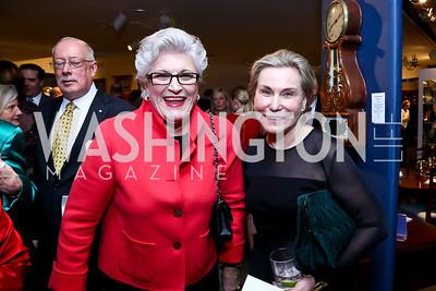 Cherrie Doggett, Jeanne Ruesch. Photo by Tony Powell. The Washington Winter Show. Katzen Center. January 9, 2014