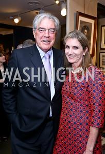 Philip Bermingham, Lisa Abeel. Photo by Tony Powell. The Washington Winter Show. Katzen Center. January 9, 2014