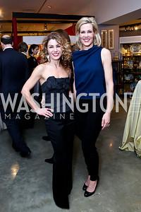 Severina Mladenova, Elizabeth Blalack. Photo by Tony Powell. The Washington Winter Show. Katzen Center. January 9, 2014