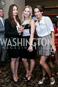 "Natasha McGlynn, Daria Loshkareva, Ekaterina Hazard. Photo by Tony Powell. ""What If"" Screening. E Street Cinema. July 30, 2014"