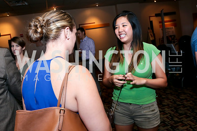 "Kim Huynh. Photo by Tony Powell. ""What If"" Screening. E Street Cinema. July 30, 2014"