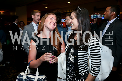 "Kimberly Rubens, Lia Metreveli. Photo by Tony Powell. ""What If"" Screening. E Street Cinema. July 30, 2014"