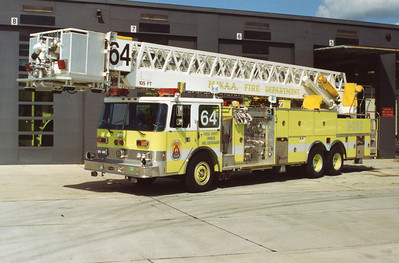 This is what Stephens City's Tower 11 use to look like while in service at Dulles International Airport.