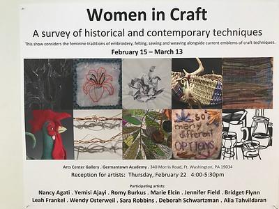 Women in Craft Exhibit