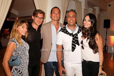 Rachel Heller, Brandon Trentham, guests photo by Rob Rich/SocietyAllure.com © 2014 robwayne1@aol.com 516-676-3939