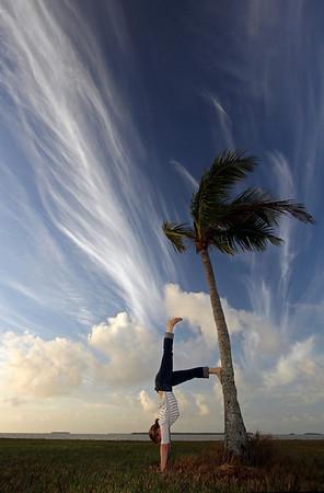 Everglades Morning Yoga