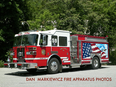 GLEN ROCK HOSE & LADDER CO. ENGINE 59 2006 SUTPHEN PUMPER