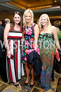 Trisha Chapman, Amy O'Brien, Emily Boynton. Photo by Tony Powell. 2014 YOA Caribbean Spring Benefit. Four Seasons. April 4, 2014