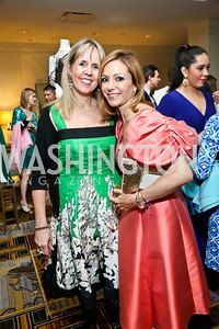 Isabel Ernst, Pilar O'Leary. Photo by Tony Powell. 2014 YOA Caribbean Spring Benefit. Four Seasons. April 4, 2014