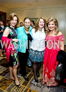 Rosa Maria Barreiro, Lizette Corro, Janet Rogozinski, Annie Totah. Photo by Tony Powell. 2014 YOA Caribbean Spring Benefit. Four Seasons. April 4, 2014