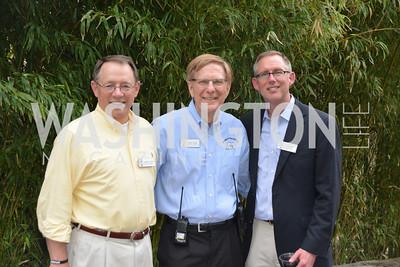Timothy Lynch, Bob Lamb, John King. Zoofari, at the Smithsonian National Zoo, May 15, 2014, Photo by Ben Droz.