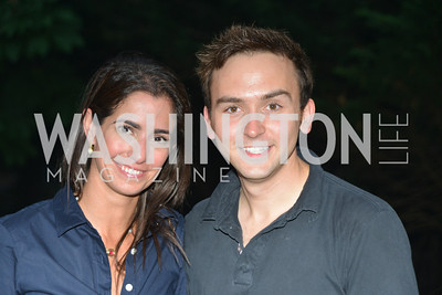 Kelly Collis, Tommy McFly, Zoofari, at the Smithsonian National Zoo, May 15, 2014, Photo by Ben Droz.