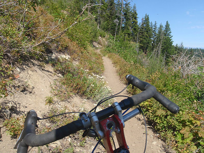 Tronsen-Red Hill + Devils Spur and upper Devils Gulch 24 aug 13
