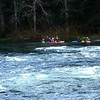 Kayakers on the Bull Run River
