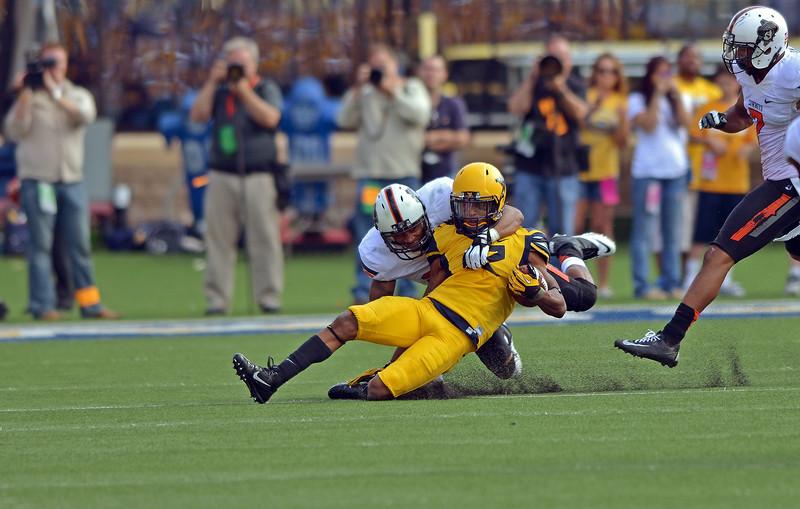 NCAA Football 2013 - Oklahoma State Cowboys at West Virginia Mountaineers