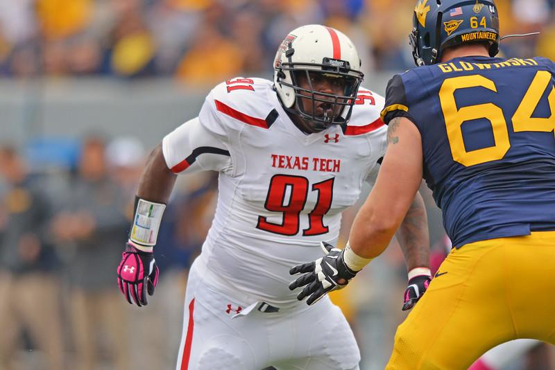 NCAA Football 2013 -Texas Tech Red Raiders at West Virginia Mountaineers