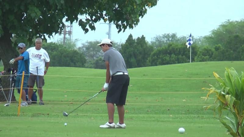 2014 OIA High School Golf Tournament at Makalena Golf Course