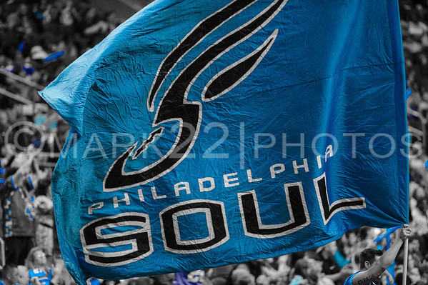 Arena League Iowa Barnstormers @ Philadelphia Soul