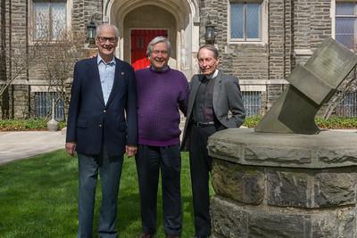 Ed Weiskotten, Paul Bosch, Bill Fensterer, Class of 1955