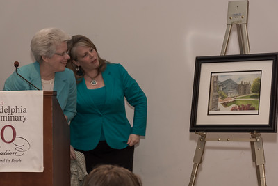 Pr. Kathleen Ash-Flashner with Louise Johnson