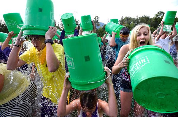 Boulder High School Ice Bucket Challenge