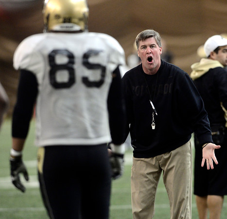 CU FOOTBALL PRACTICE AND SCRIMMAGE
