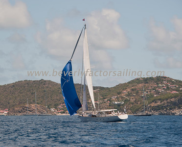RACE BOATS shot from Bequia - Day 2