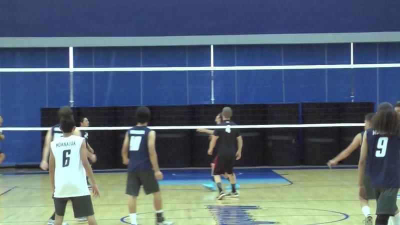 MoHS Boys Volleyball vs Kahuku 2014